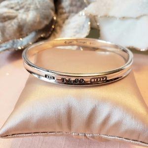 Tiffany & Co Sterling Silver 925 Bangle Bracelet